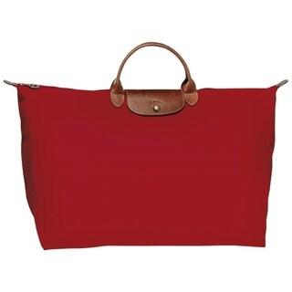 Longchamp Le Pl Xl Travel Bag-Red