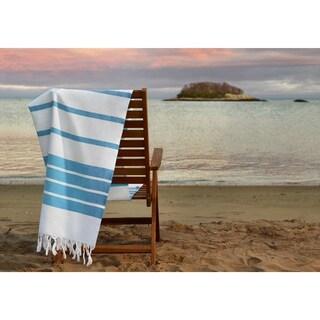 Herringbone Design 39 x 74 Traditional Turkish Cotton Peshtemal Towel (5 options available)