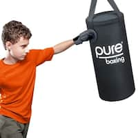 Pure Boxing 25 lb Heavy Bag Set for Kids