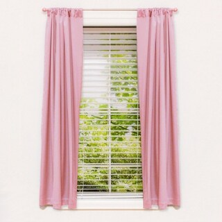 "63"" Room Darkening Window Panel Pink"