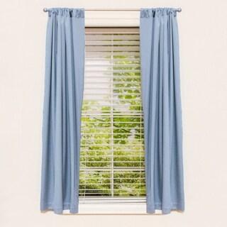 "63"" Room Darkening Window Panel Light Blue"