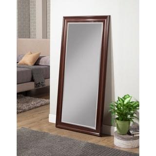 Sandberg Furniture Cherry Full Length Leaner Mirror