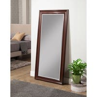 Sandberg Furniture Cherry Full Length Leaner Mirror