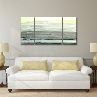 3 PC Tomorrow's Sunrise 30 x 60 Triptych Wall Art by Norman Wyatt Home