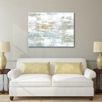 Norman Wyatt Home Fortune 30 x 40 Gallery Wrapped Canvas Wall Art by Norman Wyatt Home