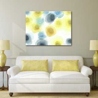 Sun Boulders 30 x 40 Gallery Wrapped Canvas Wall Art by Norman Wyatt Home