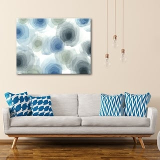 Shadow Storm 30 x 40 Gallery Wrapped Canvas Wall Art by Norman Wyatt Home