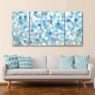 3 PC Bayside Lights 30 x 60 Triptych Wall Art by Norman Wyatt Home