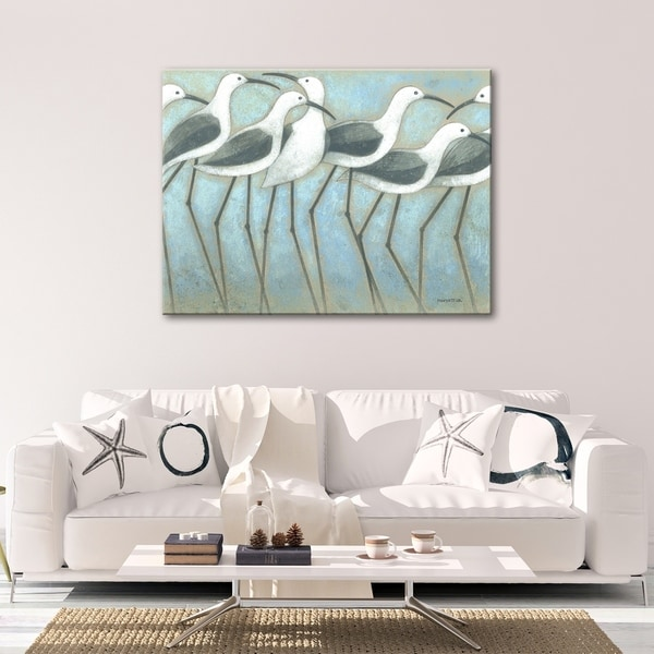 Coastal Parade Gallery Wrapped Canvas Wall Art