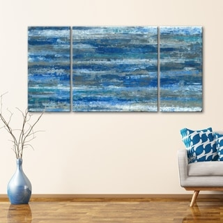 Deep Waters 30 x 60 Gallery Wrapped Canvas Wall Art by Norman Wyatt Home