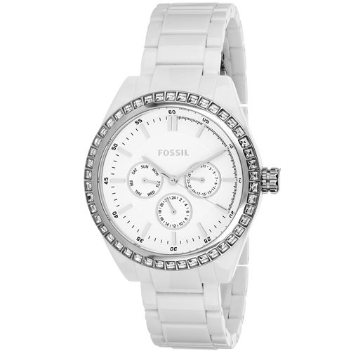 feeb7226e9d Shop Fossil Women s Glitz Watches - Free Shipping Today - Overstock -  18059940