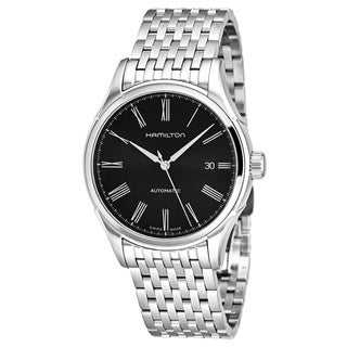 Hamilton Men's H39515134 'Timeless Class' Black Dial Stainless Steel Swiss Automatic Watch