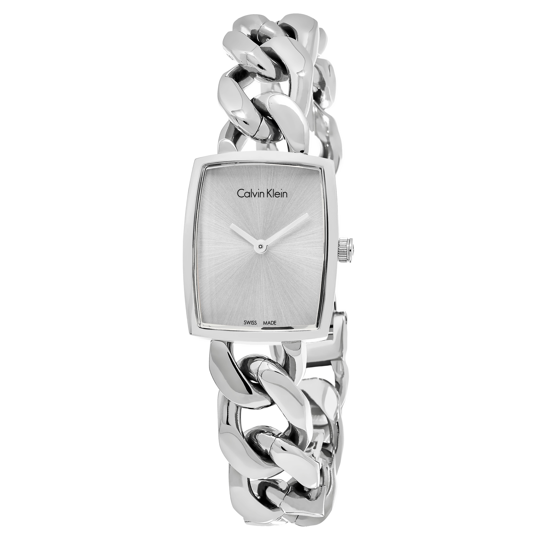 Calvin Klein Women's K5D2L126 'Amaze' Silver Dial Stainle...