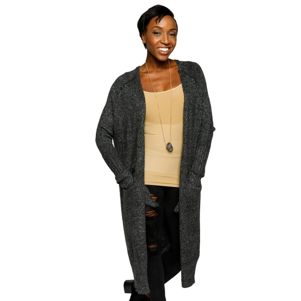 Xehar Womens Casual Long Open Front Lightweight Cardigan Sweater ...