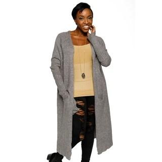 Xehar Womens Casual Long Open Front Lightweight Cardigan Sweater