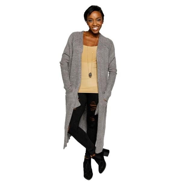 Xehar Womens Casual Long Open Front Lightweight Cardigan Sweater ...
