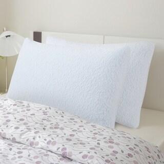 Sleeplanner Shredded I-Gel Memory Foam Pillow (Set of 2)