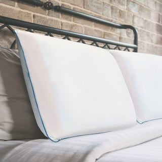 Sleeplanner Cool I-Gel Ventilated Memory Foam Pillow (Set of 2)