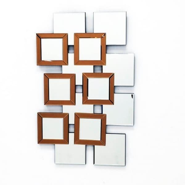 Shop L\'ARTISTE - Modern Mirror Wall Art Design L 37.5 x W 14 by Fab ...