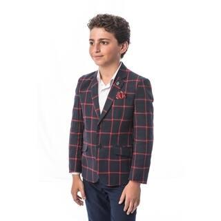 Elie Balleh Brand Boy's Style Slim Fit Jacket/Blazer (Option: 5t)|https://ak1.ostkcdn.com/images/products/18060999/P24224092.jpg?impolicy=medium