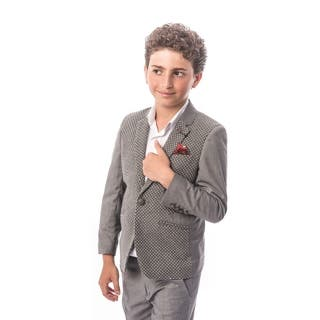 Elie Balleh Brand Boy's Style Slim Fit Jacket/Blazer (Option: 5t)|https://ak1.ostkcdn.com/images/products/18061004/P24224095.jpg?impolicy=medium