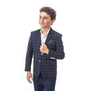 Elie Balleh Brand Boy's Style Slim Fit Jacket/Blazer (Option: 5t)|https://ak1.ostkcdn.com/images/products/18061005/P24224096.jpg?impolicy=medium
