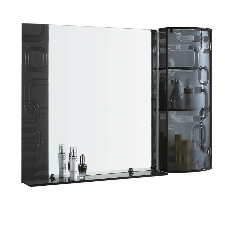 THE STARDUST   Bathroom Mirror Glass Cabinet For Jewelry U0026 Cosmetics By Fab  Glass And Mirror