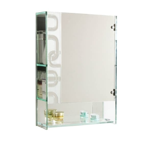 SHIMMERING LIGHT- Elegant Mirror Cabinet Ideal for Jewelry & Cosmetics