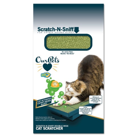 OurPets Switchgrass Natural Cat Litter with Biochar 10lb Bag