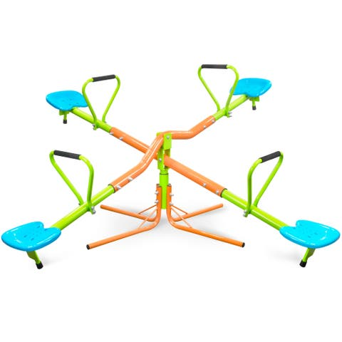 Pure Fun Kids Quad Swivel See Saw