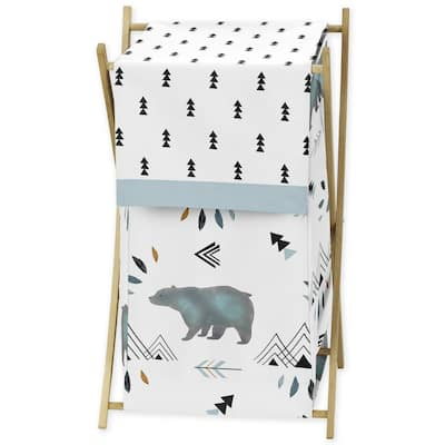 Sweet Jojo Designs Laundry Hamper for the Bear Mountain Collection