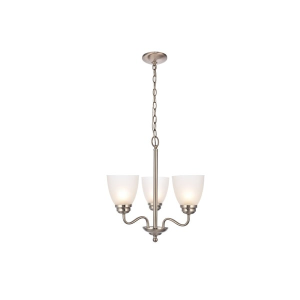 Bale Collection Pendant D18.1 H18.7 Lt:3 Brushed Nickel Finish