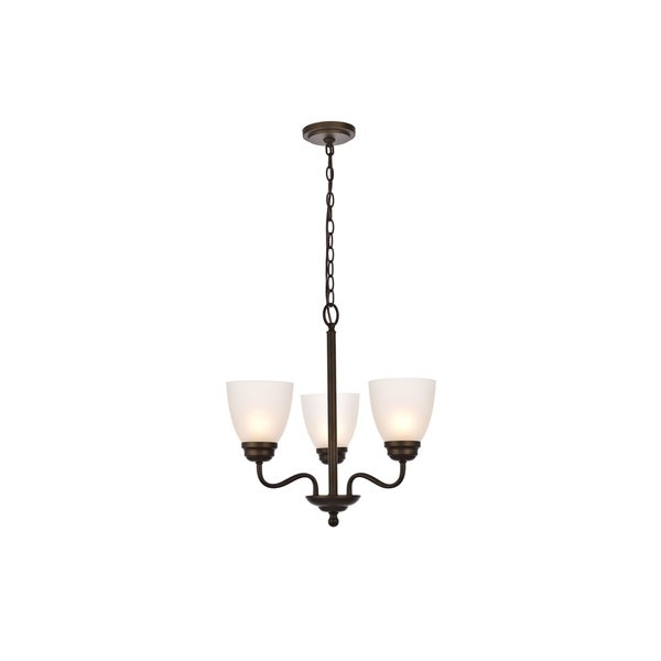 Bale Collection Pendant D18.1 H18.7 Lt:3 Oil rubbed bronze Finish