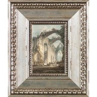 Joseph William Turner 'Tintern Abbey' Pre-Framed Miniature Print on Canvas