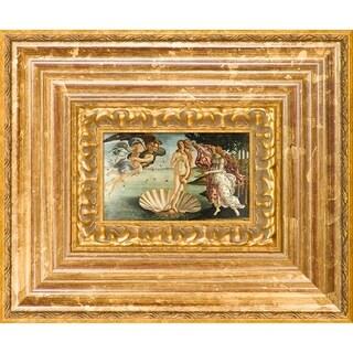Sandro Botticelli 'Birth of Venus' Pre-Framed Miniature Print on Canvas