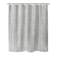 GREY CORONADO Shower Curtain By Becky Bailey
