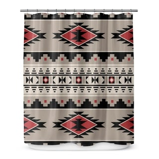Kavka Designs Cherokee Red Shower Curtain