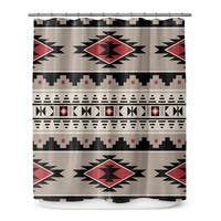 Kavka Designs Cherokee Red Shower Curtain