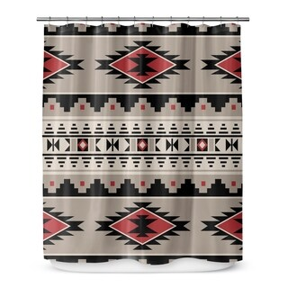 CHEROKEE RED Shower Curtain By Marina Gutierrez