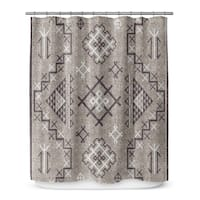 AZTEC Shower Curtain By Marina Gutierrez
