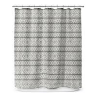 Kavka Designs Marrakesh Grey Shower Curtain
