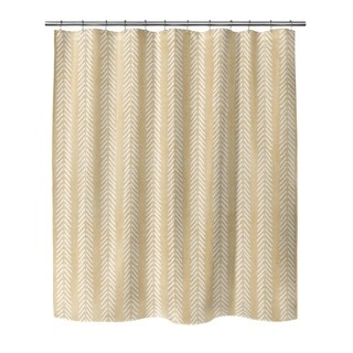 CREAM WILLOW Shower Curtain By Becky Bailey