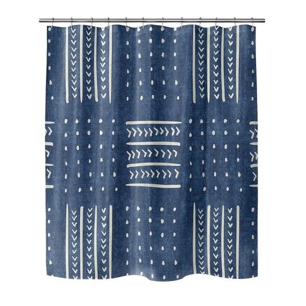 INDIGO BASIN Shower Curtain By Becky Bailey - Free Shipping Today ...