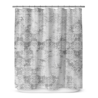 MILANO GREY Shower Curtain By Marina Gutierrez