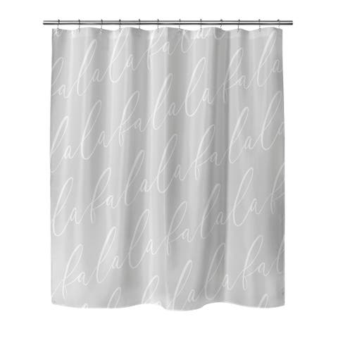 FALALA Shower Curtain By The Stylescape