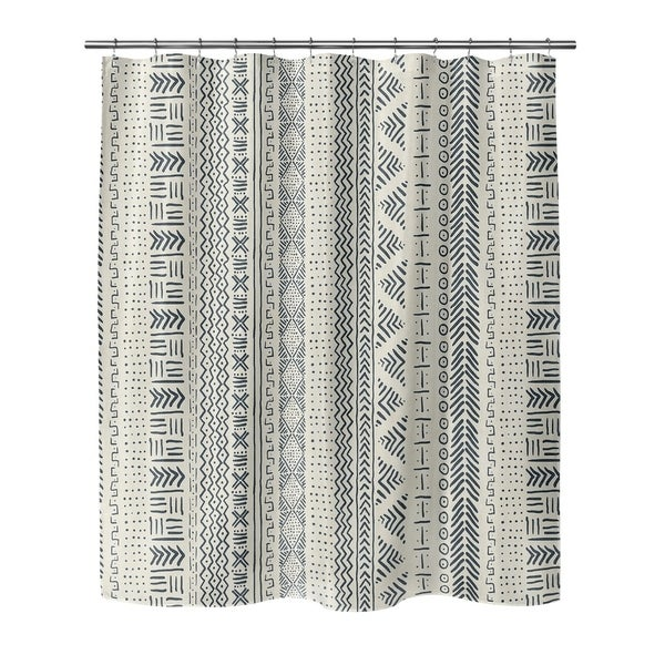 Shop IVORY LANDSCAPE Shower Curtain By Becky Bailey - Free Shipping ...