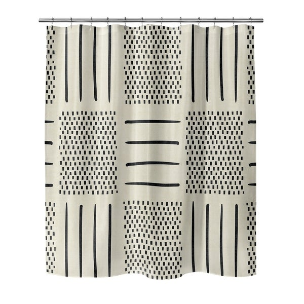 Shop IVORY CROSSROADS Shower Curtain By Becky Bailey - Free Shipping ...