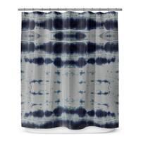 SHIBORI STRIPE Shower Curtain By Becky Bailey