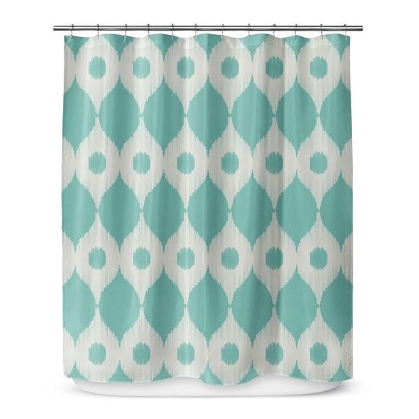 FORREST RAIN Shower Curtain By Marina Gutierrez