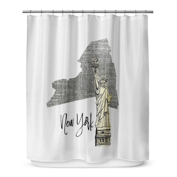 NEW YORK Shower Curtain By Terri Ellis - Free Shipping Today ...
